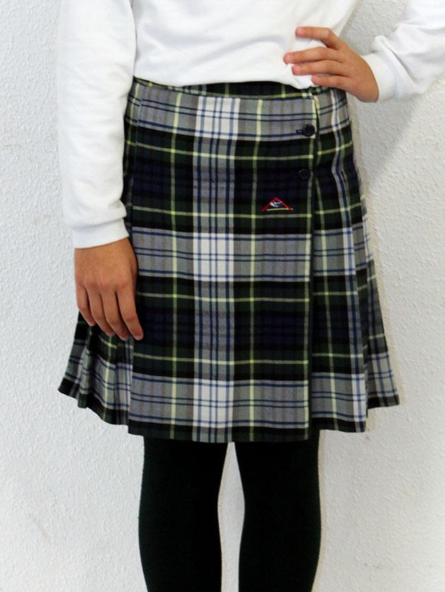 Falda de cuadros La Encarnación, Villena