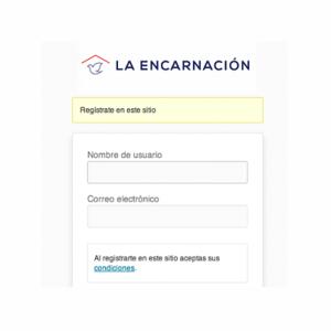 registro - tienda la Encarnación